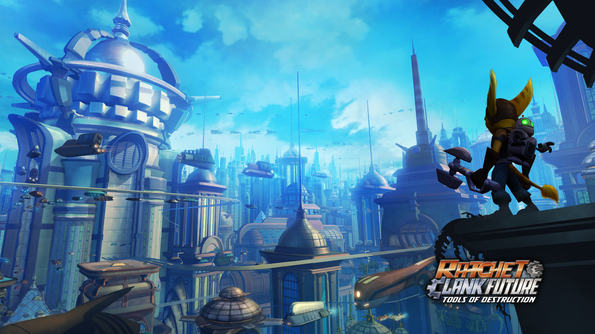 Ratchet and clank future tools of destruction wallpapers