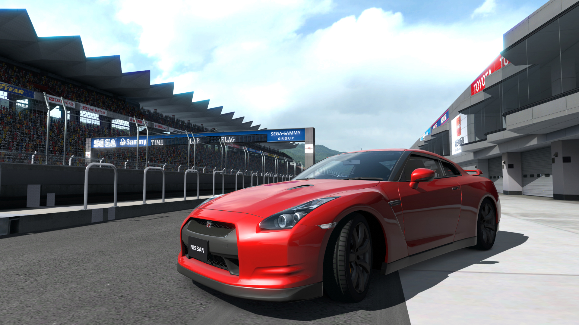 Red Nissan GT-R Wallpapers