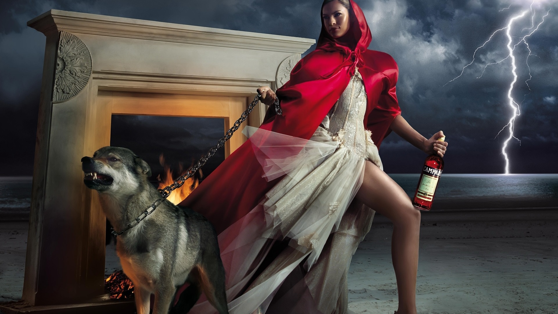 Red Riding Hood Has The Leash Wallpapers