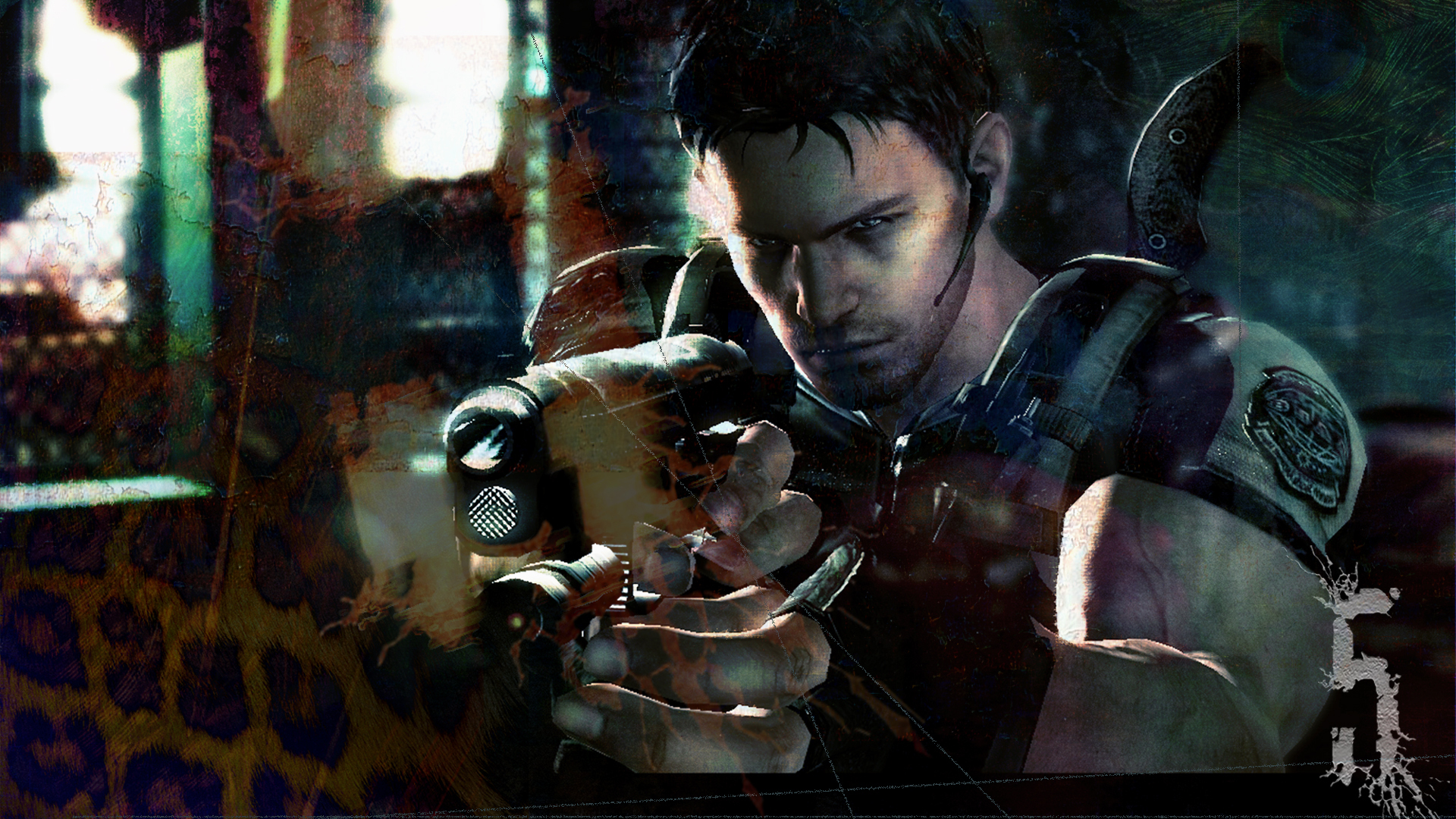 Resident Evil 5 - Taking Aim Wallpapers