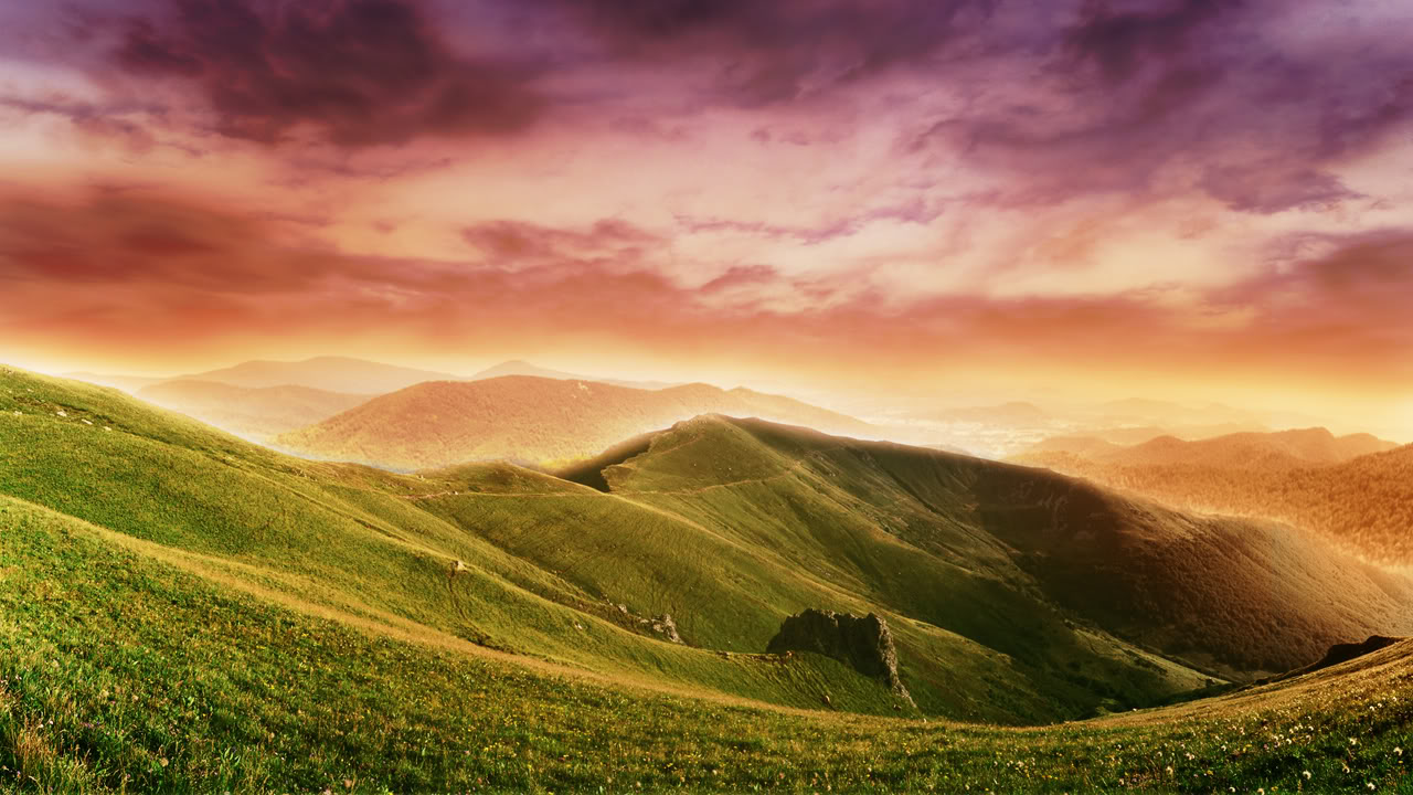 Rolling Hills Wallpapers