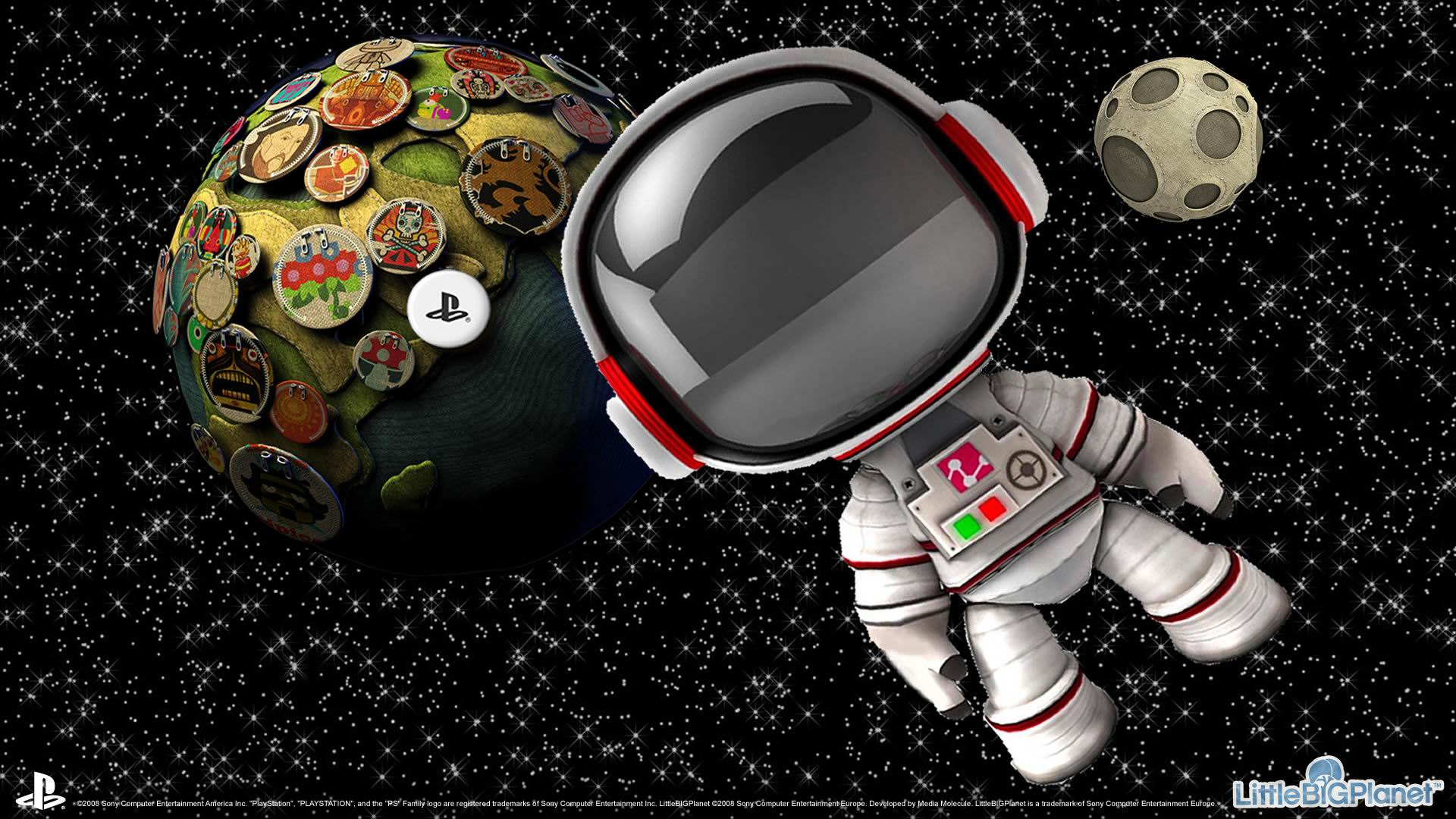 Sackboy in Space Wallpapers