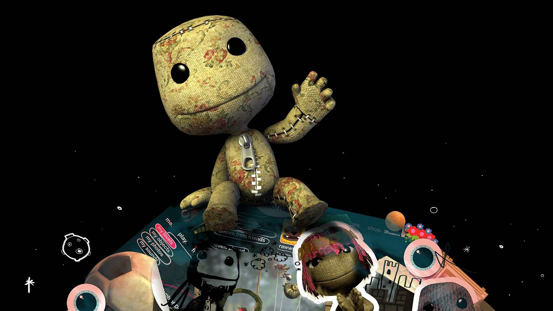 Sackboy Says Hi Wallpapers