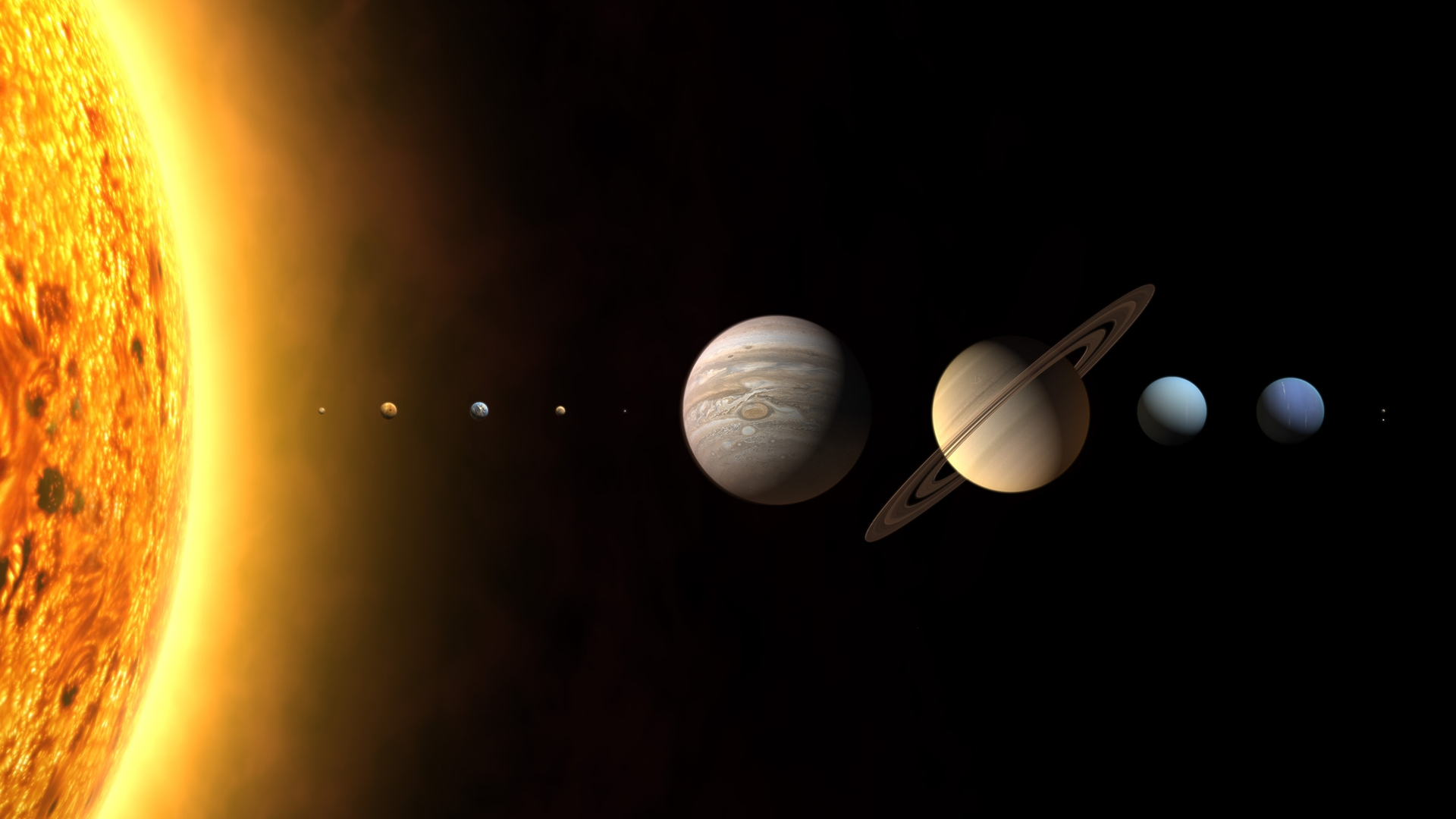 This is a Solar System wallpaper. This Solar System background can be used