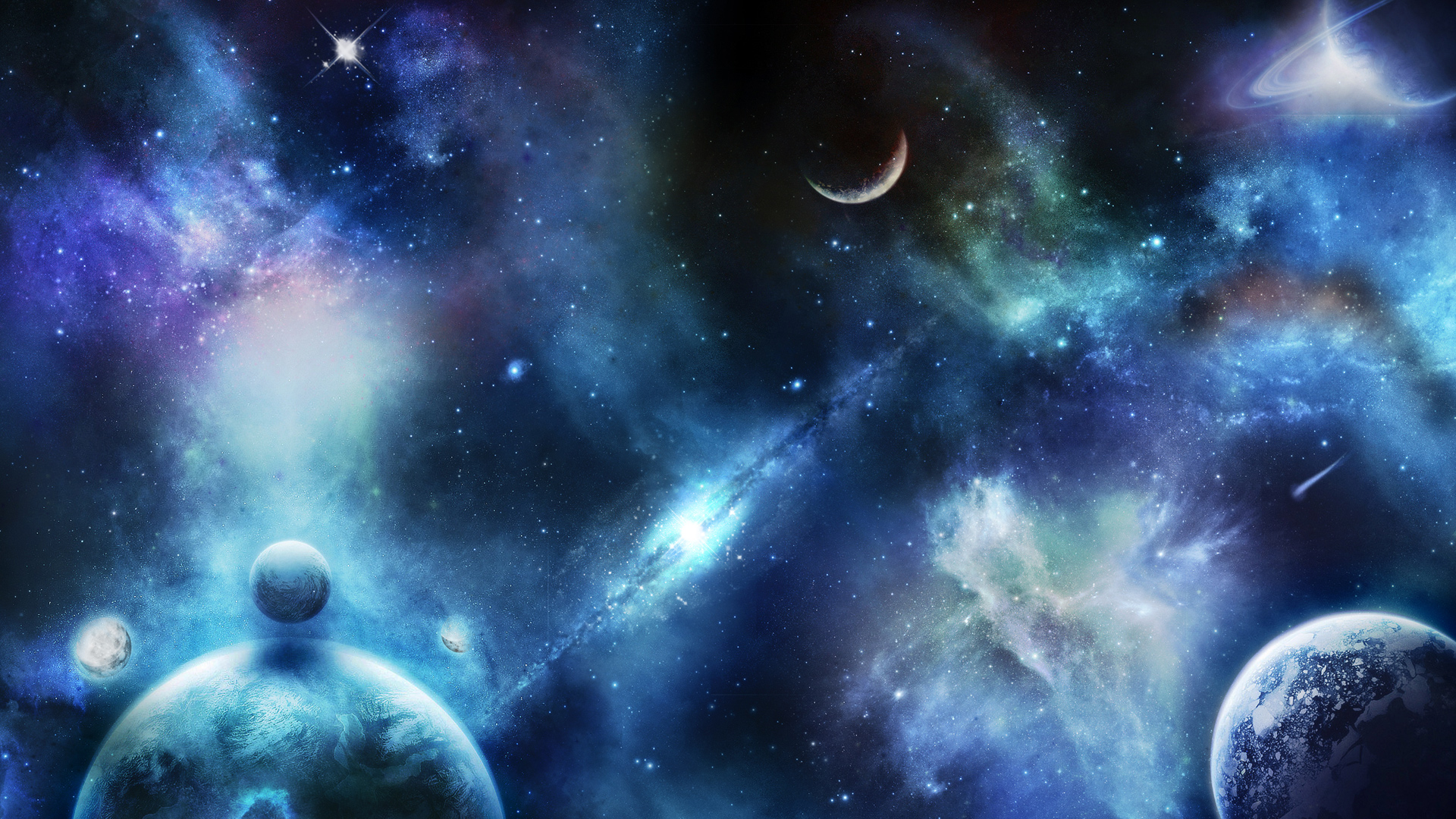 Spacescape Wallpapers