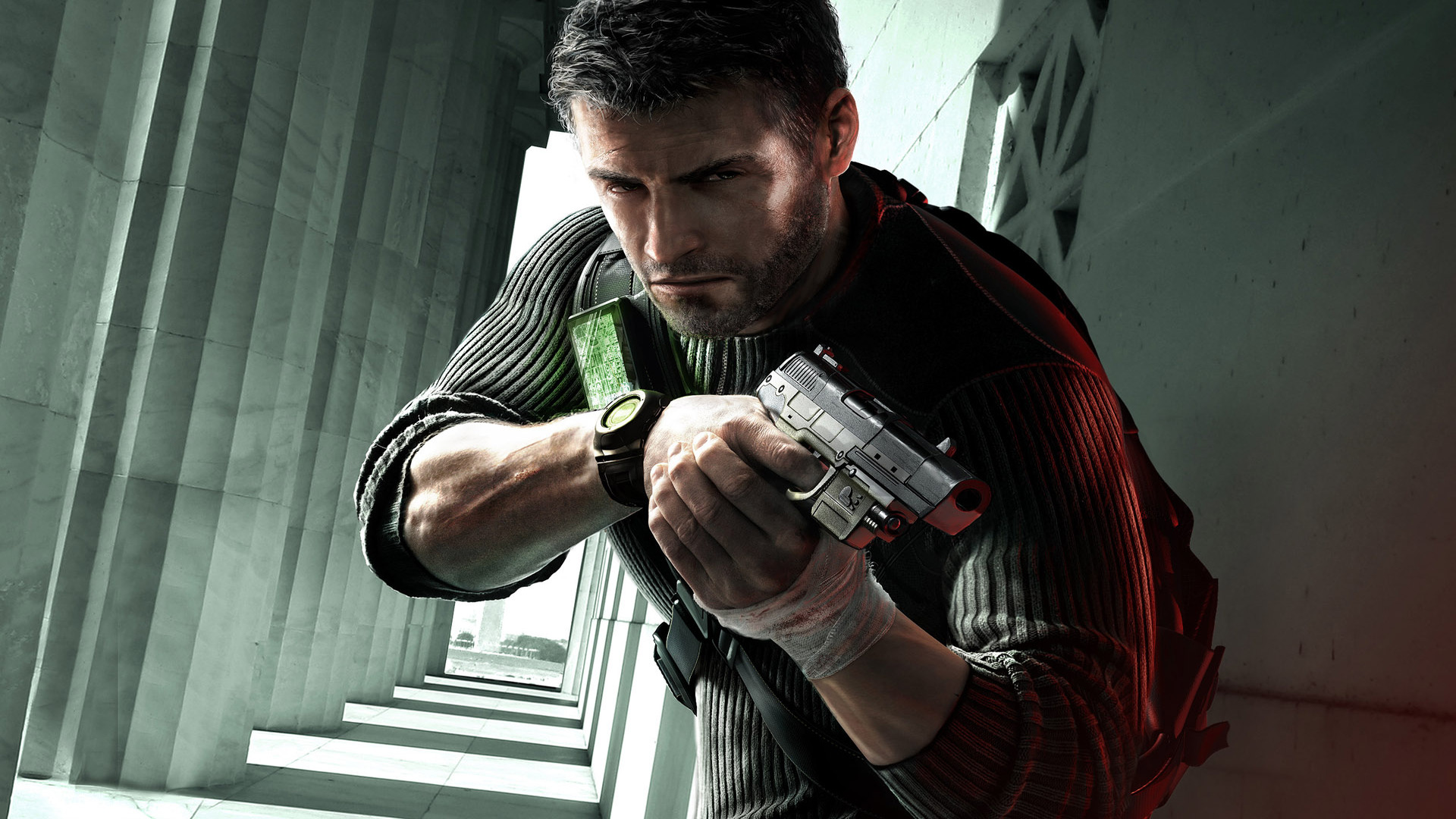 Splinter Cell: Conviction - Sam Fisher Wallpapers