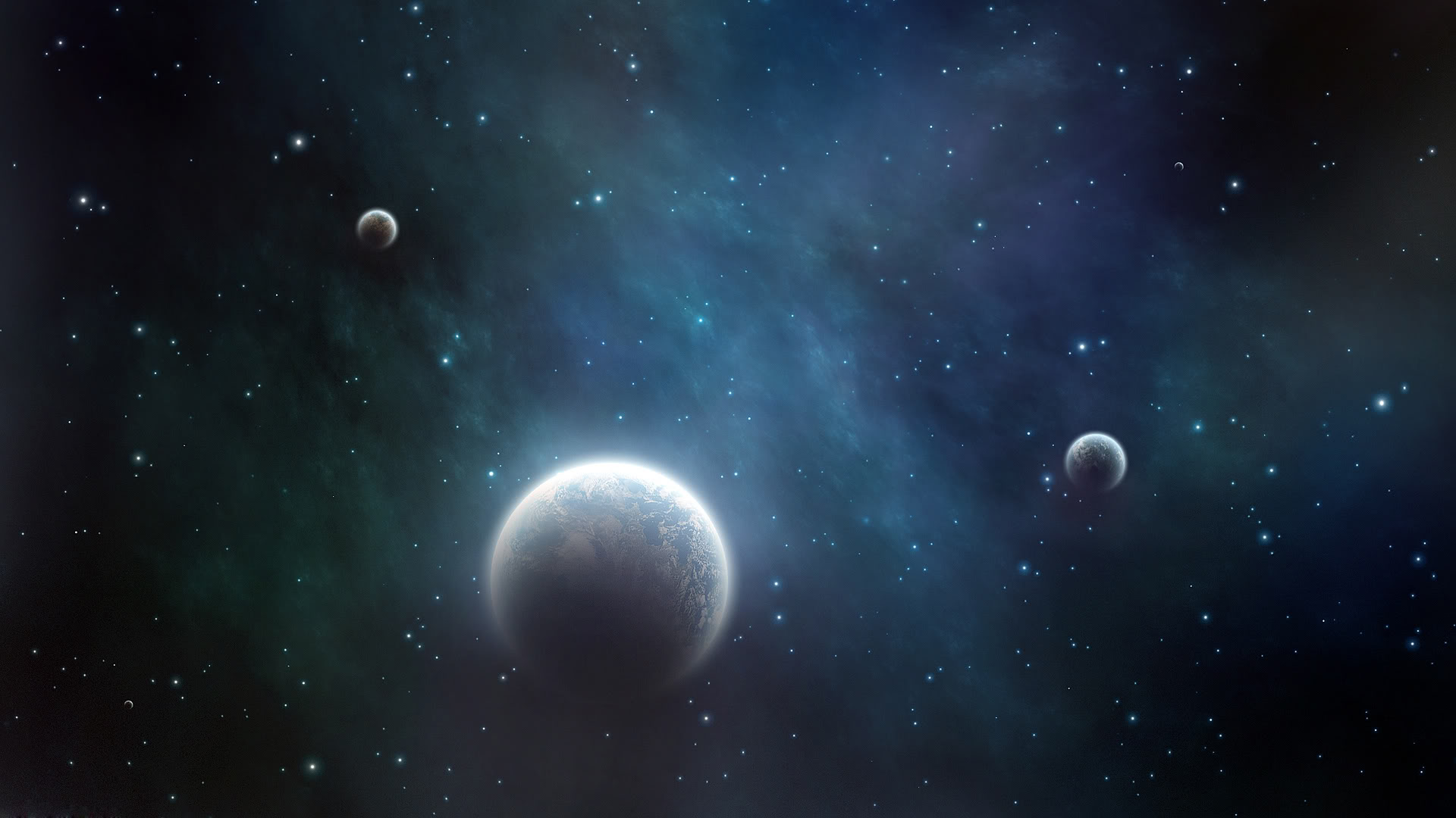 Three Planets Wallpapers
