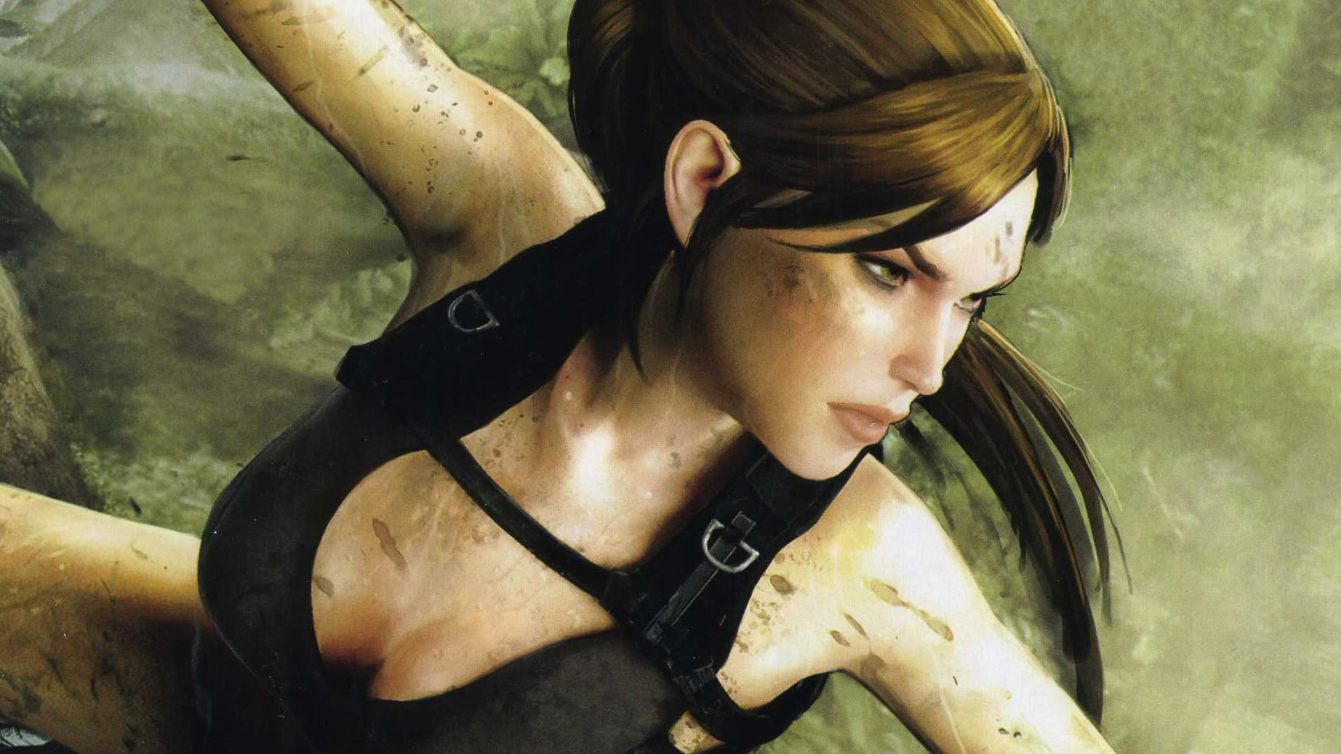 Tomb Raider - Lara is Focused Wallpapers