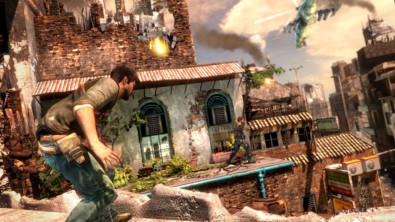 Uncharted 2 - Death From Behind Wallpapers