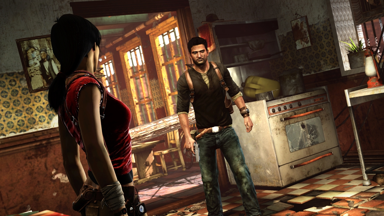 Uncharted 2 - Drake Wallpapers