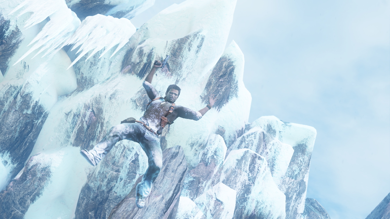 Uncharted 2 - Falling Drake Wallpapers