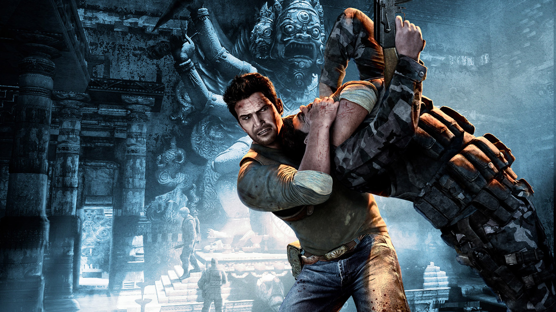 Uncharted 2 Stranglehold Wallpapers