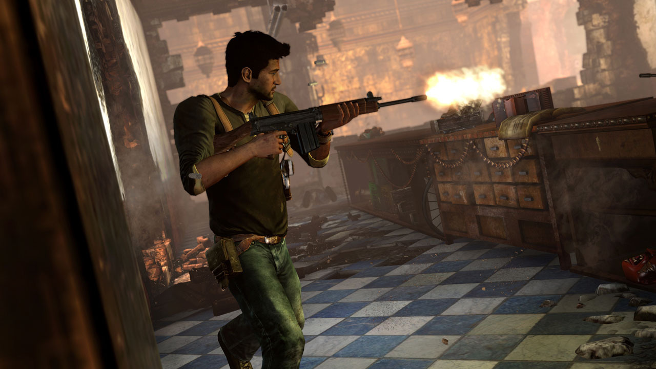 Uncharted - I Have An AK Wallpapers