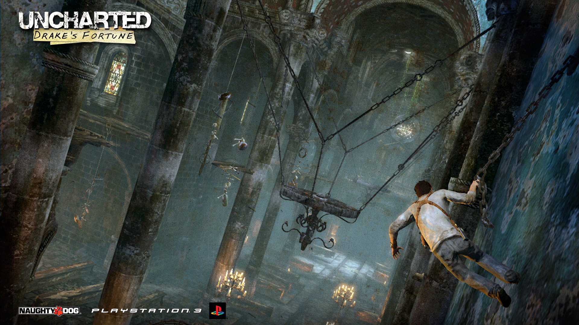Uncharted - Swinging Wallpapers