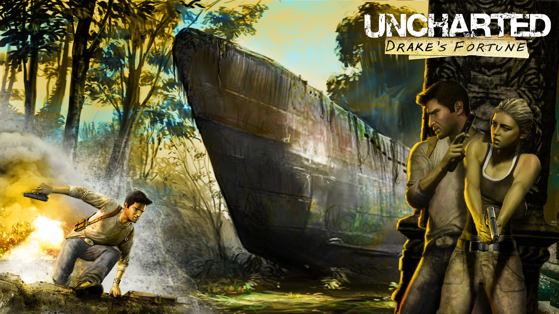 Uncharted: Drake's Fortune Wallpapers