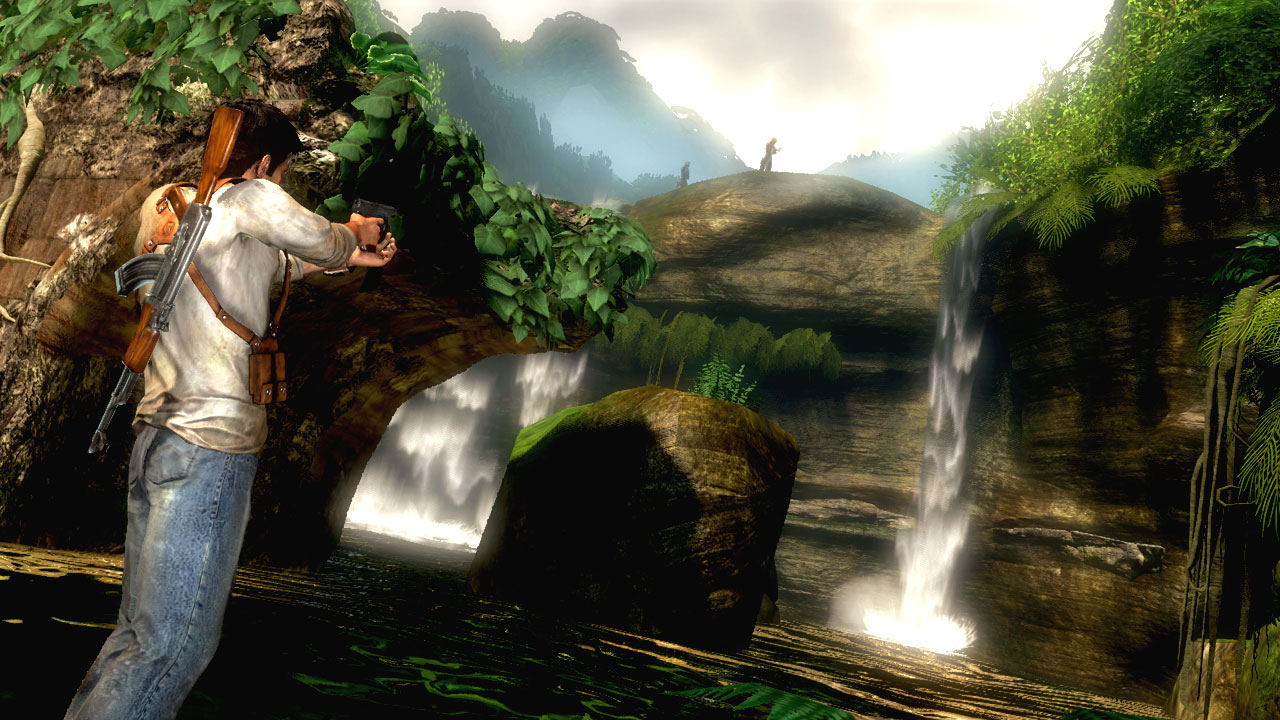 Uncharted Waterfall Wallpapers