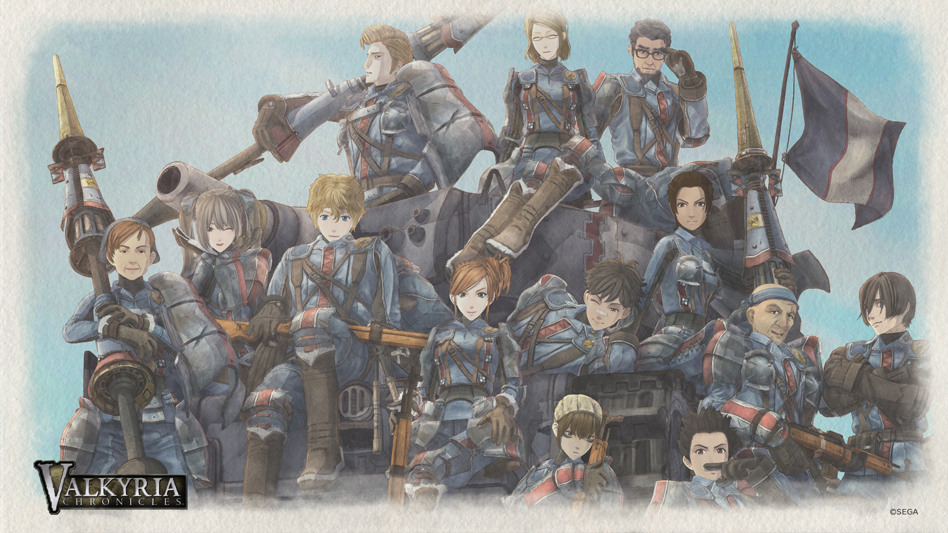 Valkyria Chronicles 2 Wallpapers