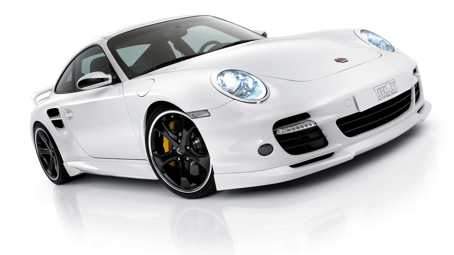 White Porsche Wallpapers