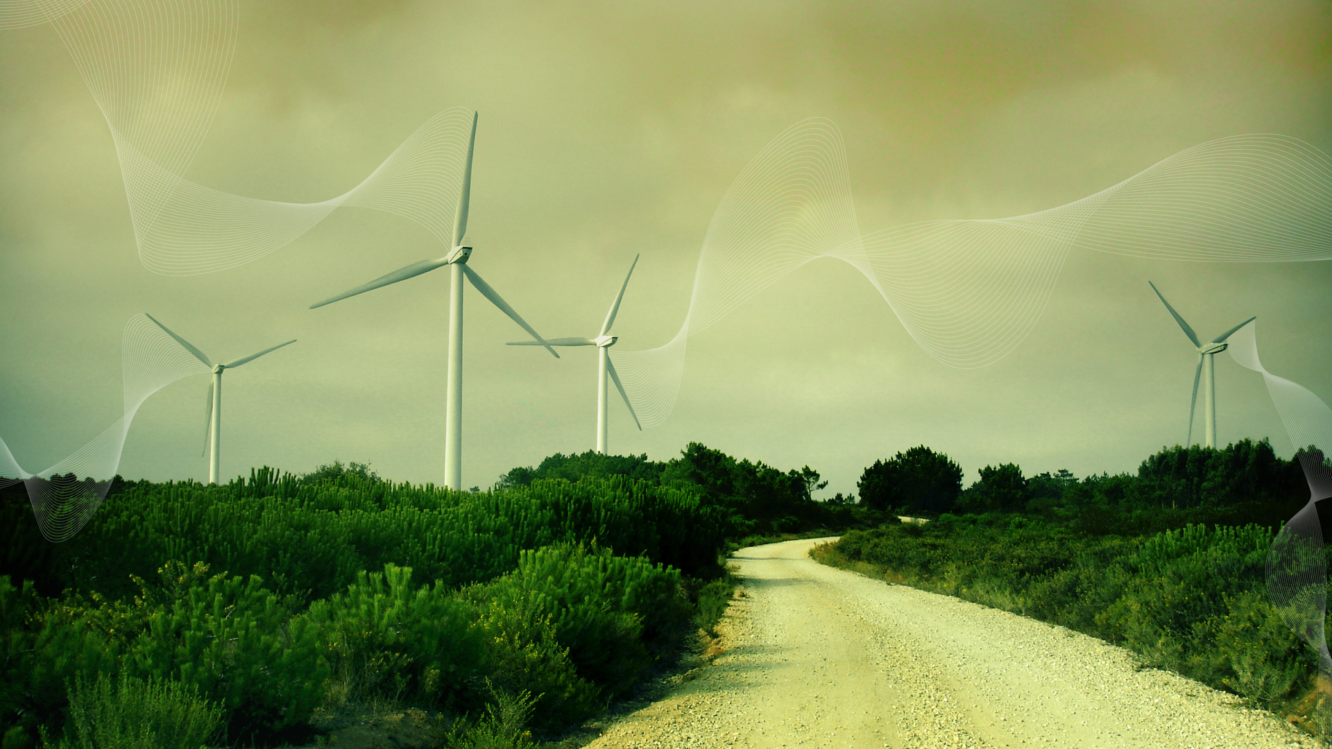 Wind Turbines Wallpapers