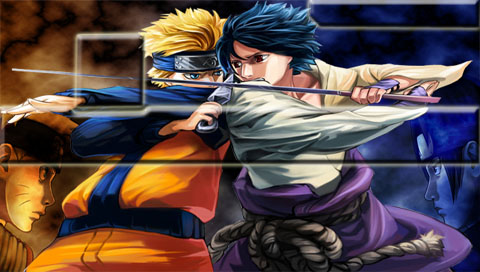 naruto psp wallpapers. naruto sasuke wallpaper.