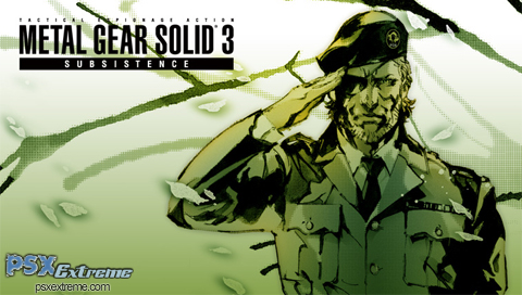 Metal Gear Solid 3: Substance Wallpapers