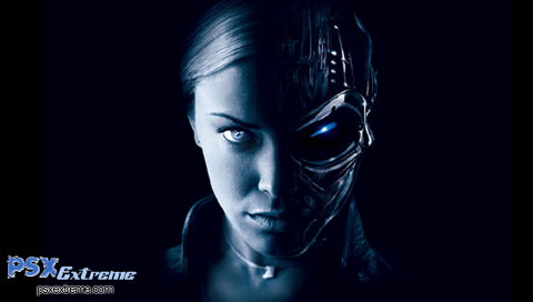 This is a Terminator 3 PSP wallpaper. This Terminator 3 PSP background can