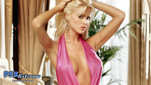 This is a Victoria Silvstedt PSP wallpaper. This Victoria Silvstedt PSP