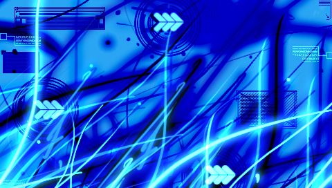 Blues Intermingle Wallpapers