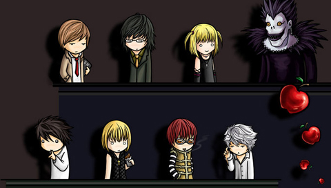 Death Note Cast Wallpapers