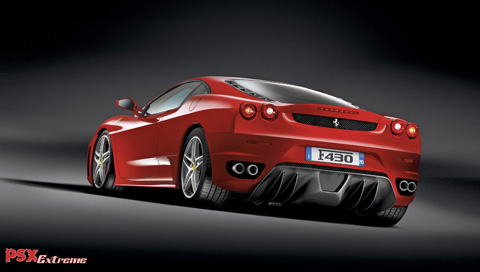This is a Ferrari F430 PSP wallpaper. This Ferrari F430 PSP background can