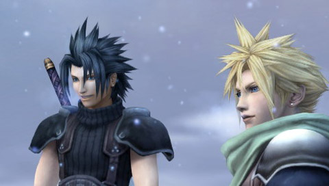 Final Fantasy VII - Zach and Cloud Wallpapers