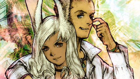 Fran and Balthier Wallpapers