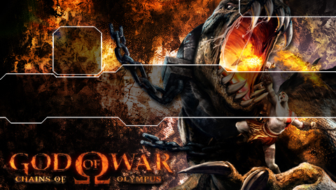 This is a God of War Handheld PSP wallpaper. This God of War Handheld PSP