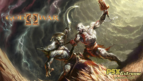 This is a God of War 2 PSP wallpaper. This God of War 2 PSP background can