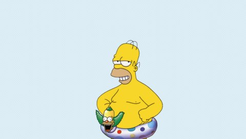 Homer - Ducky Wallpapers