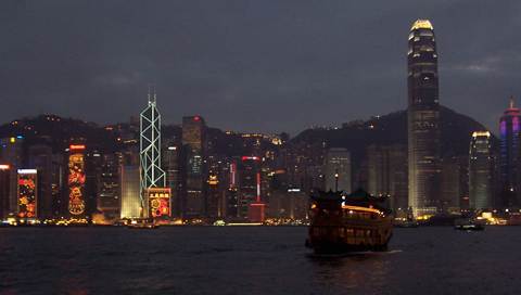 Hong Kong Harbor Wallpapers