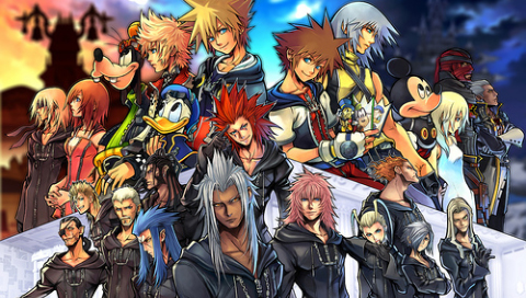 Kingdon Hearts Cast Wallpapers