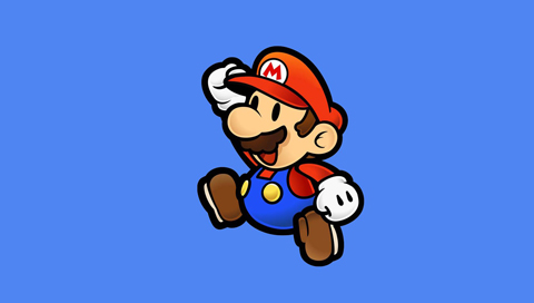 Mario Leaps Wallpapers