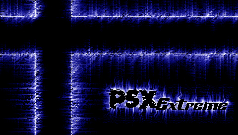 PSX Blue Lightning Wallpapers