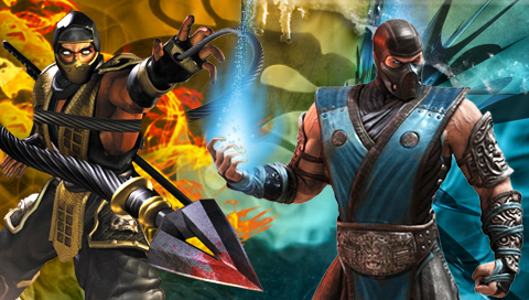 Scorpion vs. Sub-Zero Wallpapers