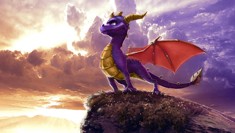 Spyro The Dragon Perches Wallpapers