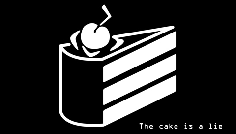 The Cake is a Lie Wallpapers