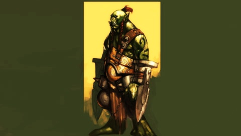 world of warcraft wallpaper orc. World of Warcraft - Orc