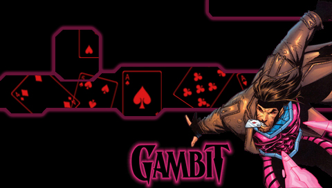 X-Men - Gambit Wallpapers