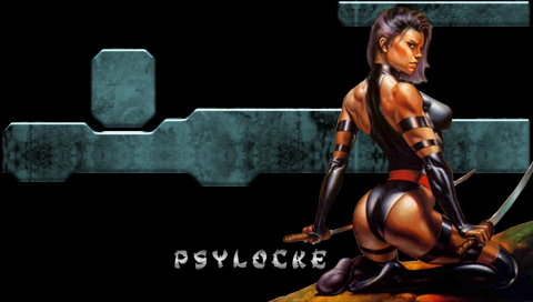 X-Men - Psylocke Wallpapers
