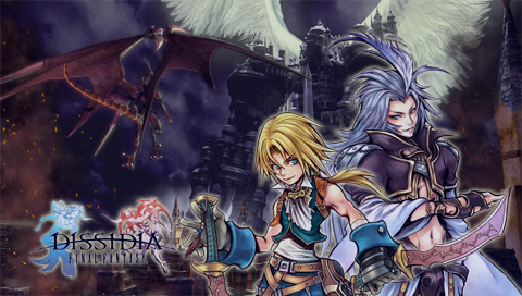 Zidane and Kuja Wallpapers